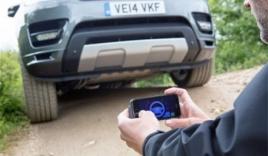 Điều khiển Range Rover Sport từ xa bằng smartphone