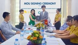 Lễ ký kết hợp tác phát triển ngành đào tạo mới theo phong cách Hàn