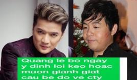 Đàm Vĩnh Hưng công bố tin nhắn mà Quang Lê cho là 'khủng khiếp'
