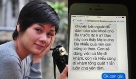 Xúc động tin nhắn cuối cùng con gái gửi nhạc sĩ An Thuyên
