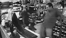 Chú chó cắn văng súng trên tay tên cướp để cứu chủ