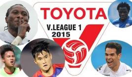 Lịch thi đấu, Kết quả, Bảng xếp hạng V-League 2015