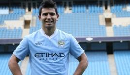 Aguero sẽ không cùng Man City sang Việt Nam