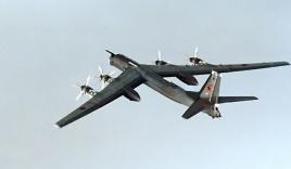 Video: Máy bay ném bom chiến lược Tu-95 của Nga bị rơi