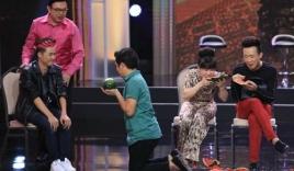 Trấn Thành, Việt Hương bị Thanh Duy 'hạ bệ' trên sân khấu