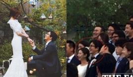 Những bức ảnh hiếm hoi trong lễ cưới Bae Yong Joon