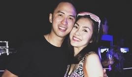 Facebook sao Việt: Vợ chồng Tăng Thanh Hà trốn con đi xem nhạc