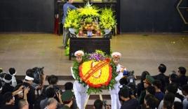 Hình ảnh lễ viếng và truy điệu nhà báo Hữu Thọ