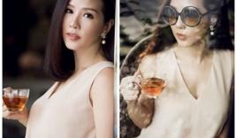 Hoa hậu Thu Hoài khoe vẻ đẹp mặn mà, cuốn hút ở tuổi 40
