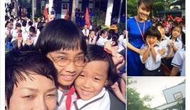 Facebook sao Việt: Sao Việt hào hứng đưa con đi khai trường