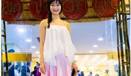 Hoa hậu Thùy Dung xuống sắc sau thời gian tạm lánh showbiz