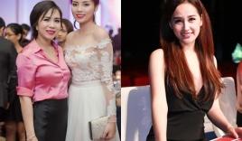 Kỳ Duyên hội ngộ Lưu Nga ở chung kết Hoa hậu Hoàn vũ VN 2015