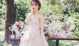 Hương Giang Idol đẹp khó cưỡng khi lần đầu làm cô dâu