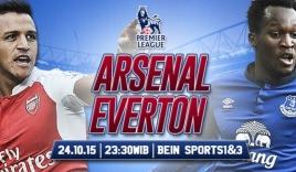 Arsenal vs Everton lúc 23h30 ngày 24/10: Thắng để lên đỉnh