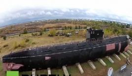 Video: Cận cảnh tàu ngầm tấn công nổi tiếng thời Liên Xô