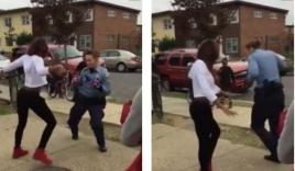 Nữ cảnh sát 'thách đấu nhảy' để ngăn cản ẩu đả được Obama khen ngợi
