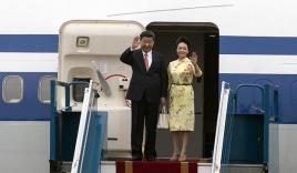 Chủ tịch Trung Quốc Tập Cận Bình bắt đầu chuyến thăm Việt Nam