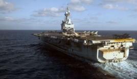 Pháp điều tàu sân bay hạt nhân hỗ trợ Mỹ đánh IS