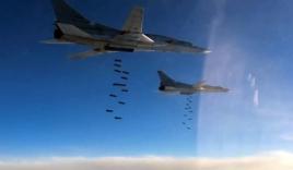 Video: Máy bay Nga dội bom, hủy diệt 500 xe chở dầu của IS