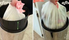 Mẹo vặt giúp đổ rác không bị bẩn, nước chảy ra sàn