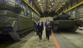 Tổng thống Putin thị sát xe chiến đấu bộ binh mới