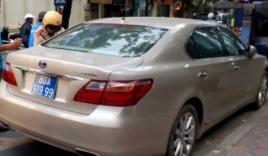 Xe Lexus giá tiền tỷ mang biển xanh 80A-919.99 giả