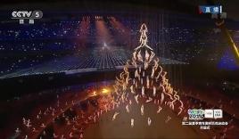 Màn trình diễn của 500 vũ công khiến thế giới kinh ngạc