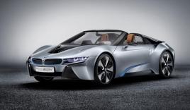 BMW i8 mui trần phiên bản sản xuất chuẩn bị trình làng