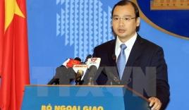 Phản đối quan chức Đài Loan đến đảo Ba Bình