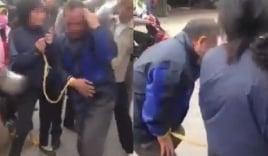 Clip cặp vợ chồng già bị đánh dã man vì nghi ăn trộm gây phẫn nộ