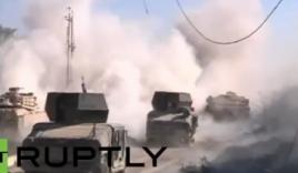 Video: Giao tranh dữ dội trên trận tuyến giành giật Ramadi