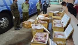 Phát hiện hơn 1 tấn thịt thối chuẩn bị lên bàn nhậu
