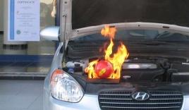 Bóng cứu hỏa siêu an toàn: Dập lửa nhanh, không gây hỏng xe