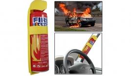 Bình cứu hỏa ôtô phát nổ ở nhiệt độ bao nhiêu?