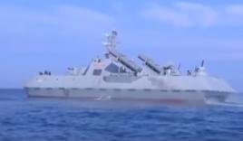 Video: Triều Tiên hé lộ tàu tên lửa tàng hình tối tân