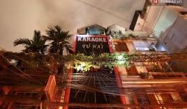 Cháy quán karaoke ở Đê La Thành, Hà Nội