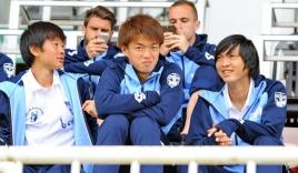 HLV của Yokohama lý giải việc để Tuấn Anh dự bị ở trận thua SHB.ĐN