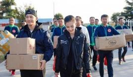 Huỳnh Hiểu Minh - Angelababy đứng đầu bảng xếp hạng từ thiện