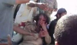 Xuất hiện video phút cận kề cái chết của nhà lãnh đạo Gaddafi