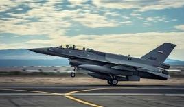 Video: Không quân Iraq tập kích ồ ạt căn cứ địa IS