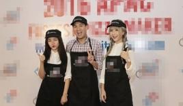 Em chồng Hà Tăng thi làm bánh với 2 hotgirl Việt
