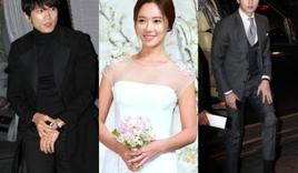 Ji Sung hội ngộ Park Seo Joon tại đám cưới của Hwang Jung Eum