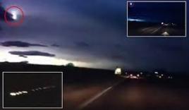 Video: Cầu lửa bí ẩn rực sáng trên bầu trời khiến người xem kinh hãi