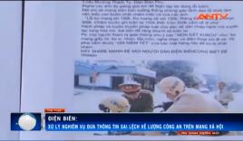 Tp. Điện Biên Phủ: 'Quái xế' tung tin bôi nhọ CSGT trên Facebook