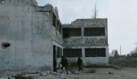 Video: Phóng viên quốc tế trúng pháo kích khi đang ghi hình tại Syria