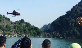 Đoàn làm phim 'King Kong 2' dùng trực thăng quay đại cảnh ở Ninh Bình