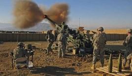 Lựu pháo M-777 của quân đội Mỹ khoe uy lực khi nã đạn