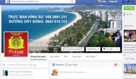 Cảnh sát hình sự Khánh Hòa lập Facebook tấn công tội phạm
