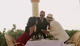 Ông chủ 'đứng hình' khi bị vệ sĩ ôm hôn người tình ngay trước mặt
