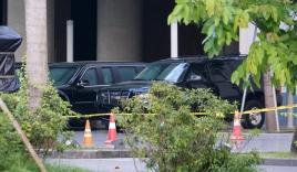Siêu xe Cadillac One của Tổng thống Mỹ Obama xuất hiện ở Hà Nội